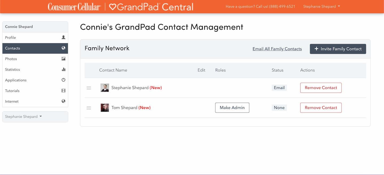Grandpad Tablet Simple Tablet For Seniors Consumer Cellular