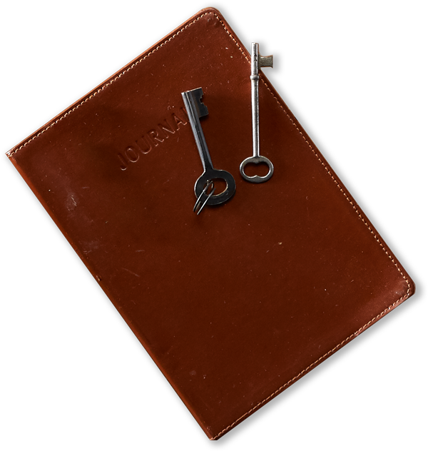 Journal and keys