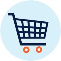 Image of shopping cart.